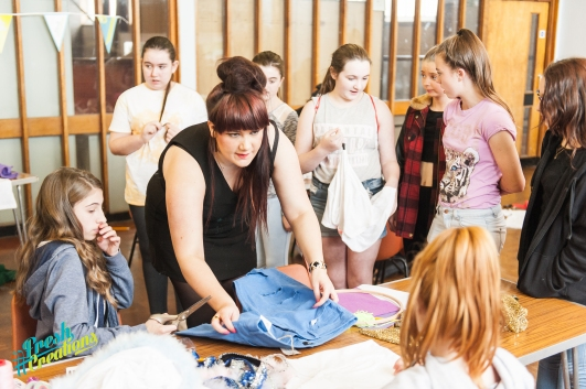Fresh Creations workshops, October 2014.